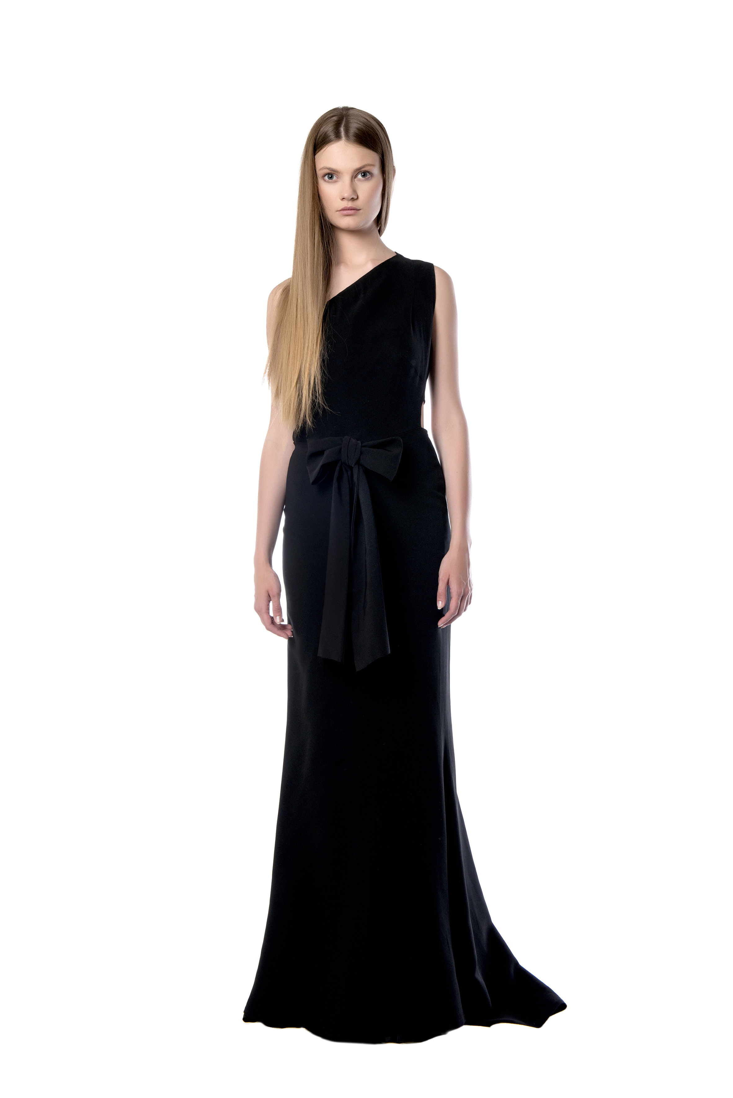67d33c96cca Μακρύ φόρεμα με έναν ώμο - clothing - Products | Celia Kritharioti Eshop